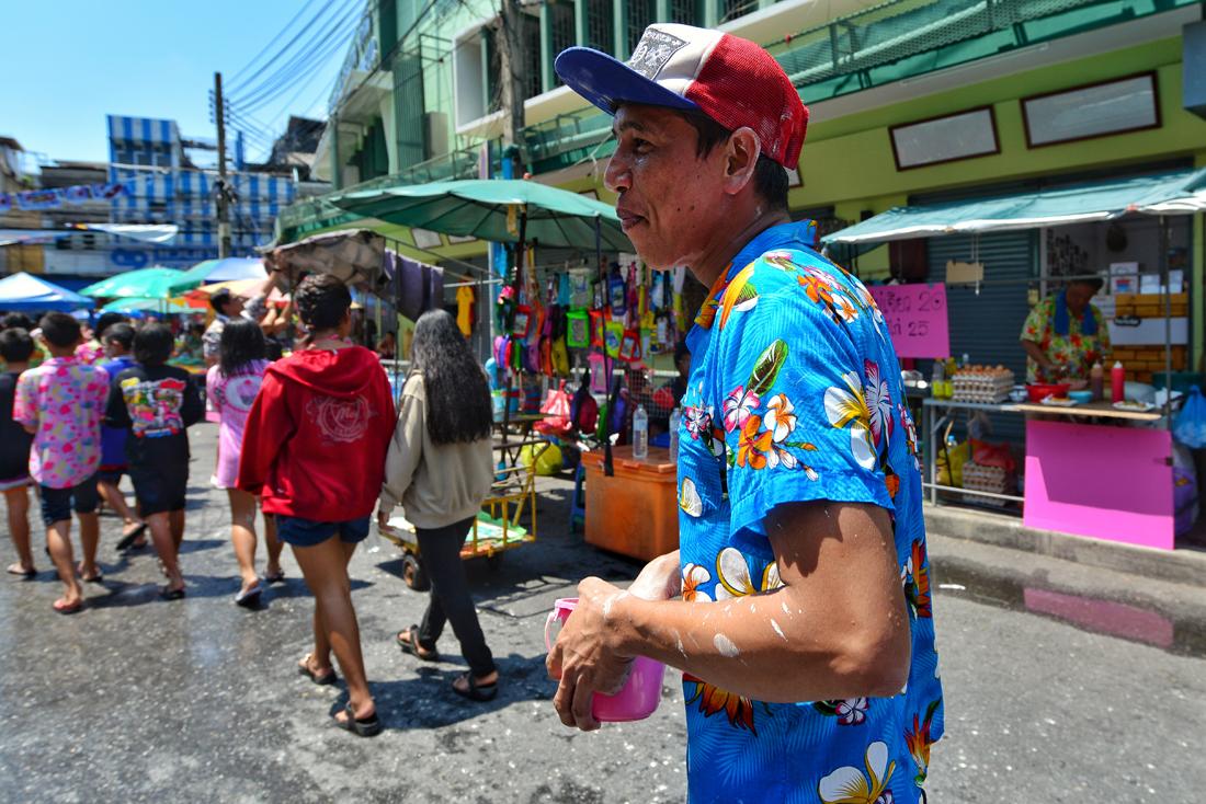Songkran w Bangkoku